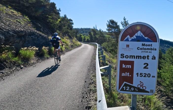 Steep. 12.9% km
