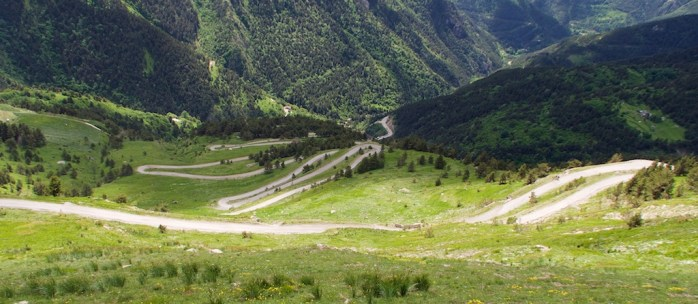 middle hairpins