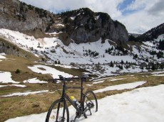 blocking view to Le Roc d'Enfer