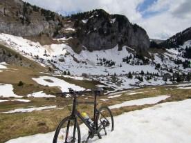 blocking view to Le Roc d'Enfer