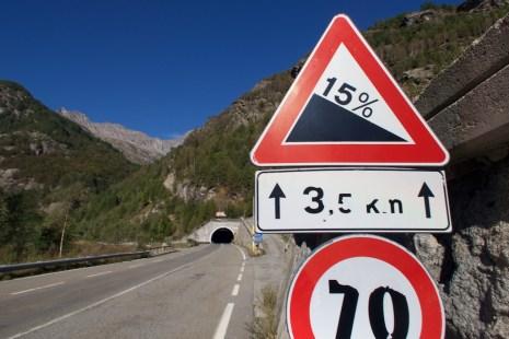 A steep tunnel!