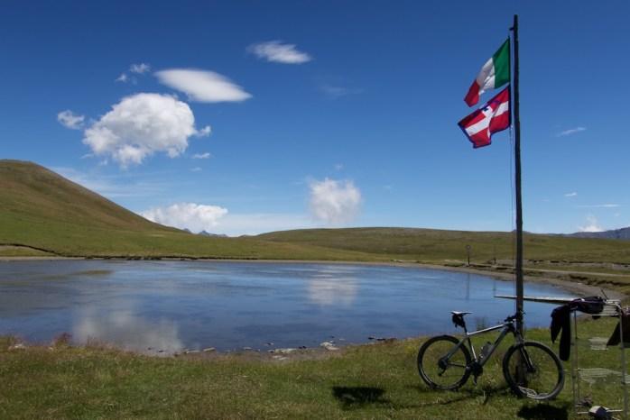 Lake at 2400 metres