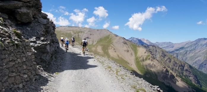 Monte Jafferau ahead