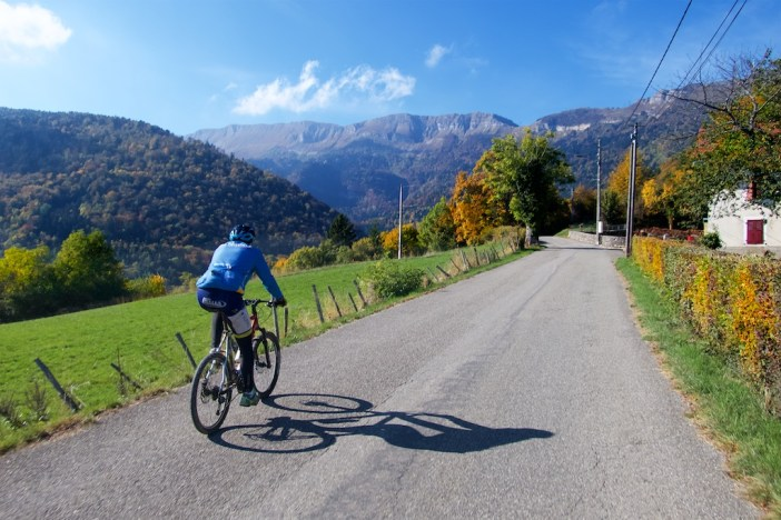 Perfect Autumn ride with Tim