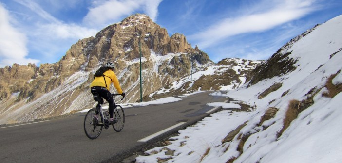 The Twenty Highest Paved Cycling Climbs in the Alps