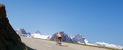 2nd highest paved road in Switzerland