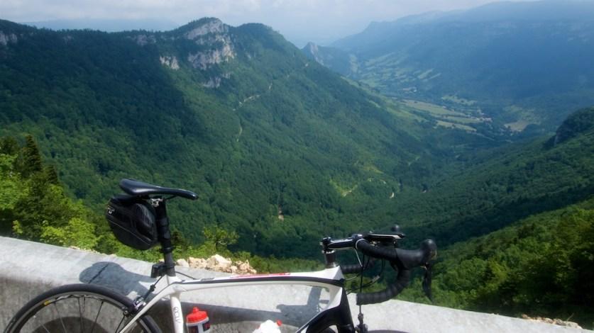 View from Col de la Bataille