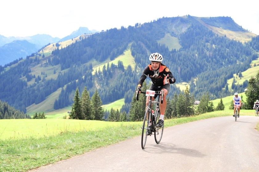 Exhausted - near top of Mittelberg