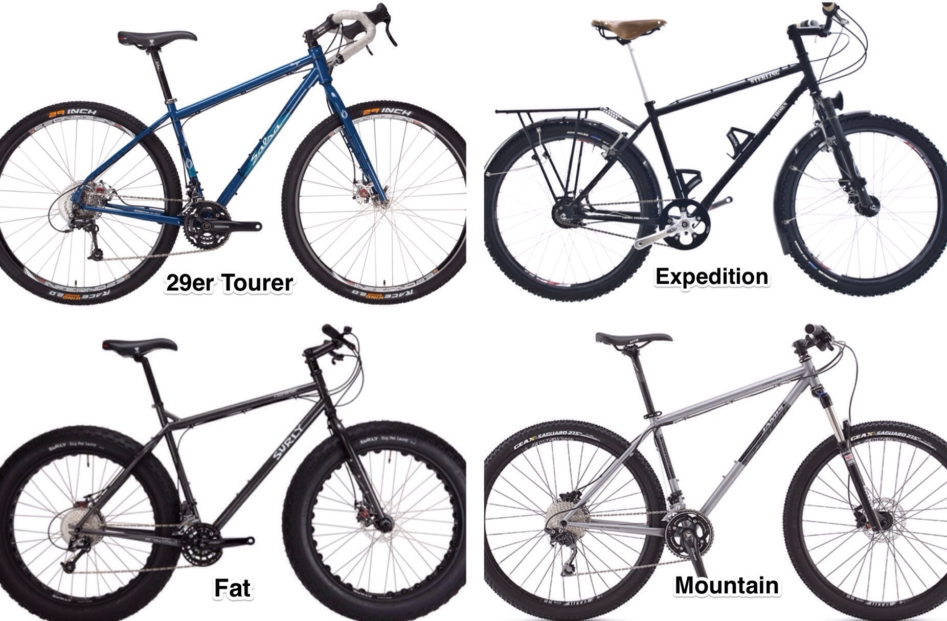 Understanding The Different Types Of Touring Bike