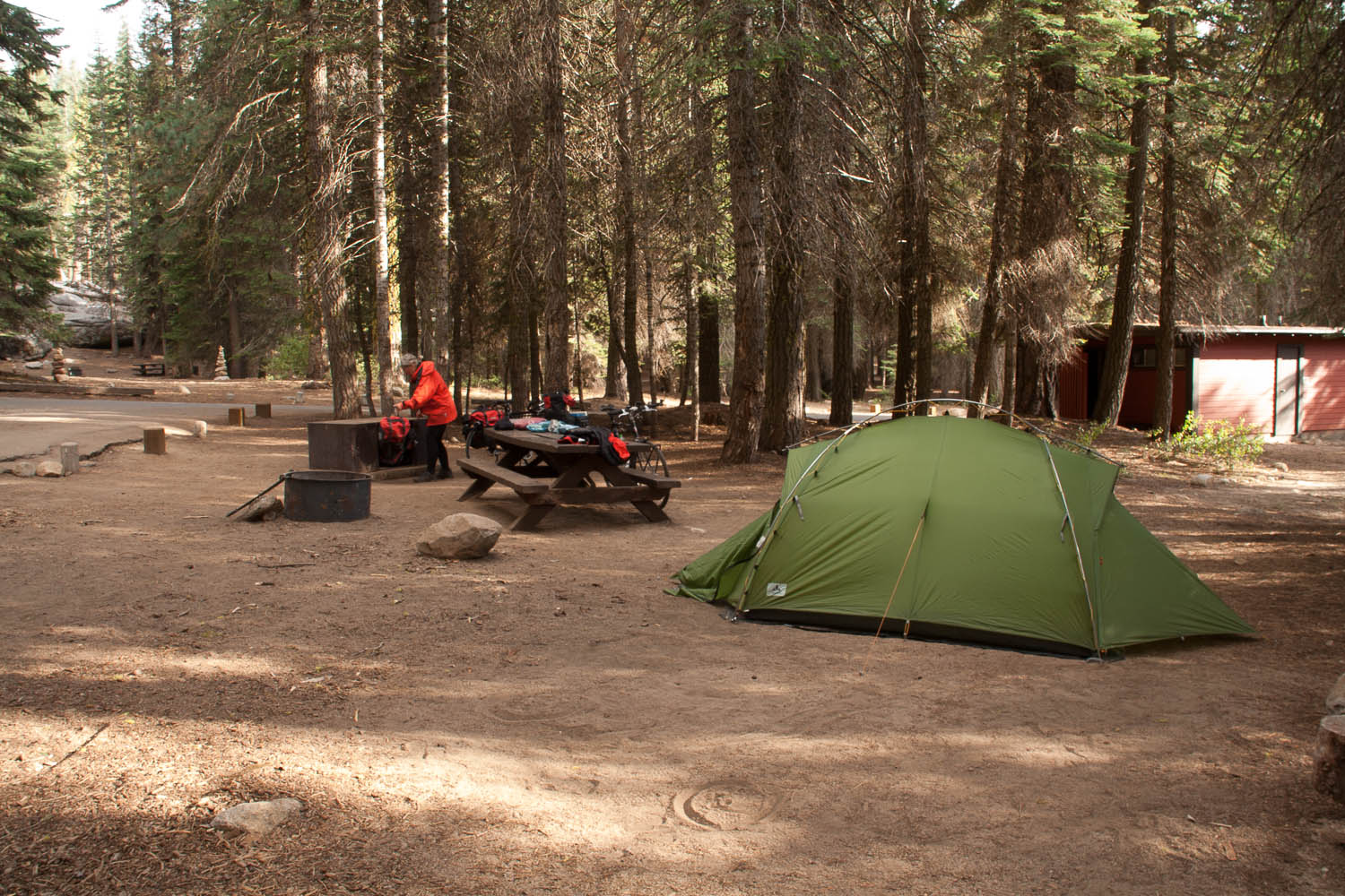 Typical NP campsite