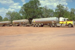 gigantic road train