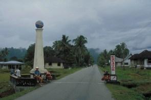 crossing the Equator at Sumatra