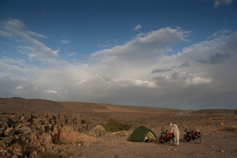 free camping just outside Al Hamra
