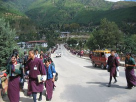 Thimpu city scene
