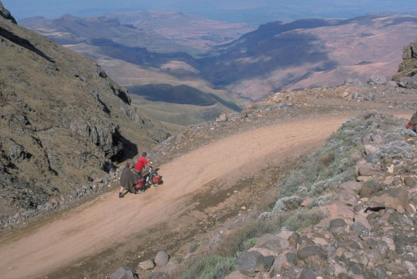 Up the Sani pass