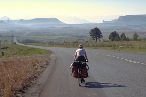 The road to Clarens