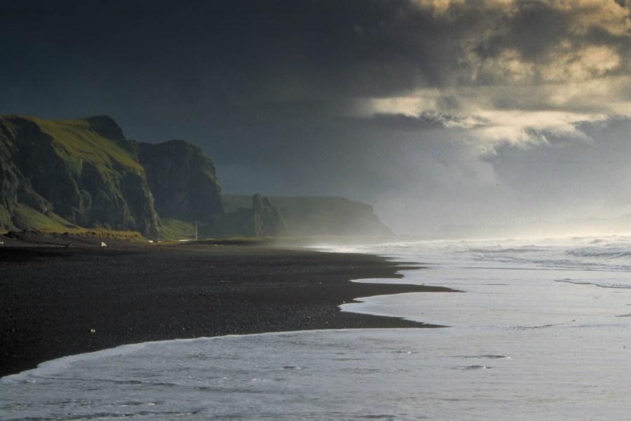 the beach at Vik