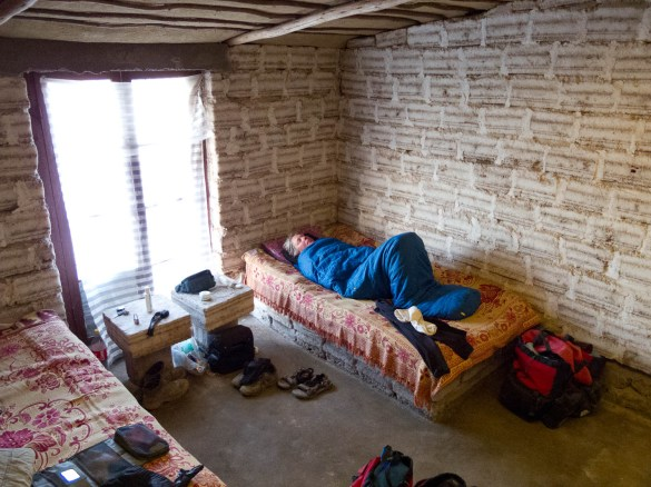 Sleeping in a salt hotel (Bolivia)