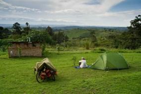 Uganda camping