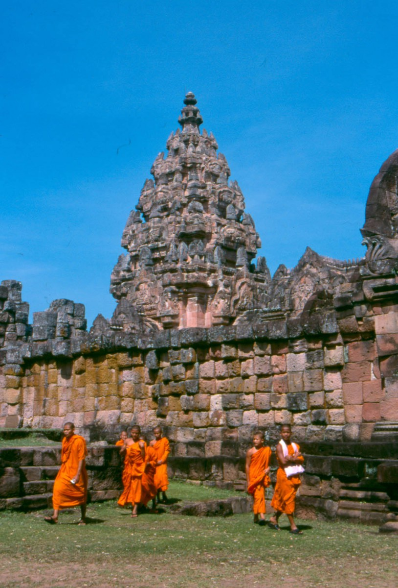 young monks at a temple
