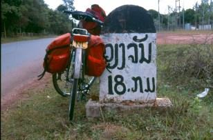 18 kilometers to Vientian