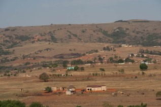 Typical swazi country side