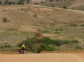 Hard work on the road to Maguga Dam