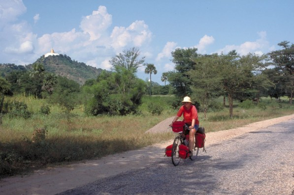 On the road to Bagan