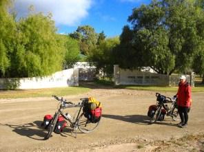 A farm we camped