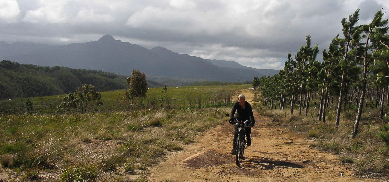 Bike trail near Storms River