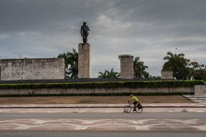 The Che Guevara monument in Santa Clara
