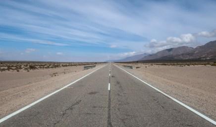 Typisch uitzicht op de Ruta 40
