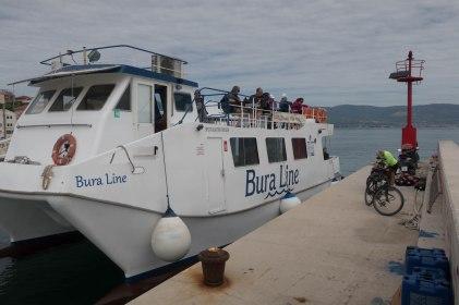 Bura Line ferry from Split to Slatine and Trogir