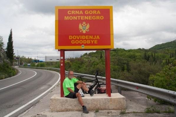 Montenegro goodbye!