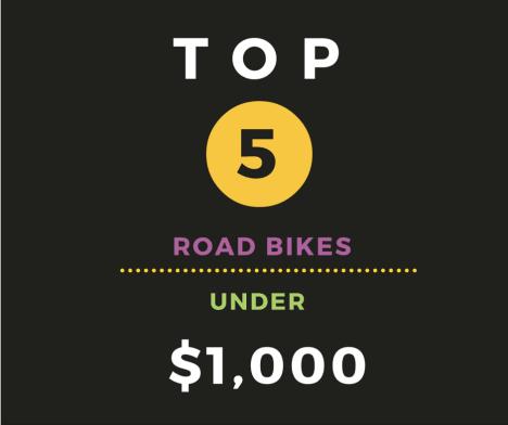 top road bikes under 1000