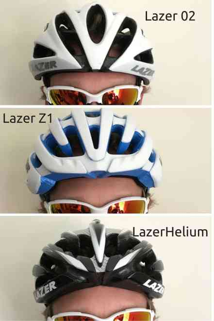 Lazer O2 vs Helium vs Z1