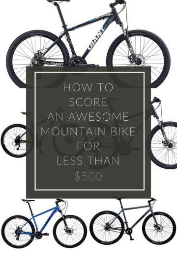 best mountain bike under 500
