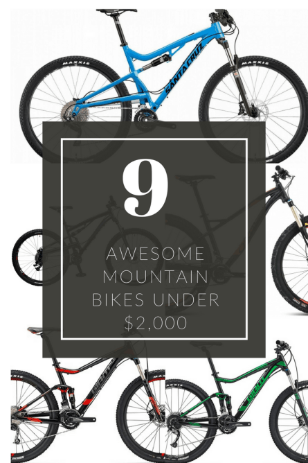 best mountain bike under 2000