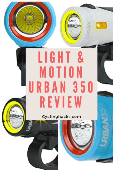 light and motion urban 350 review