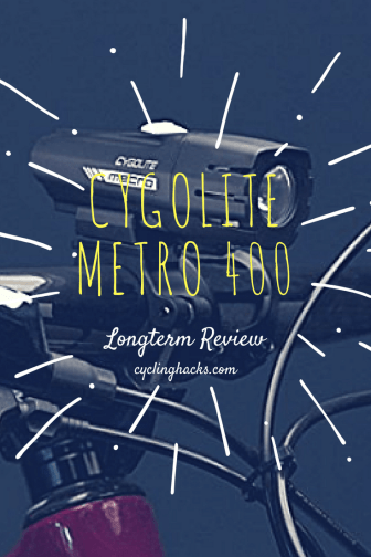 cygolite metro 400 review
