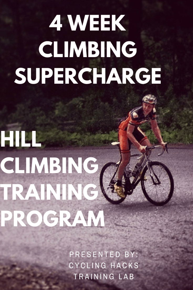 cycling hill climbing training program