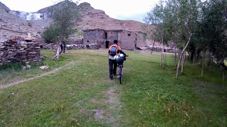 Accommodation in Parkachik Village