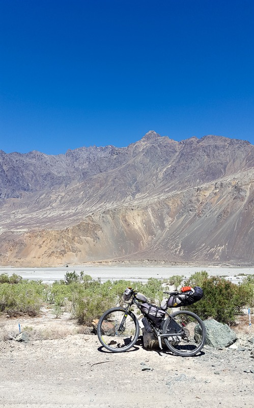 Cycling in Nubra Valley