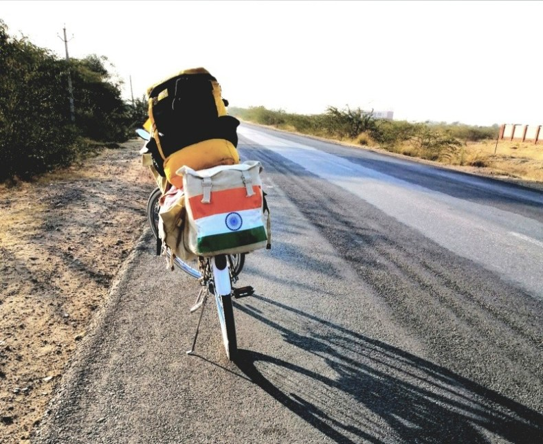 Cycling from Bikaner to Vizag