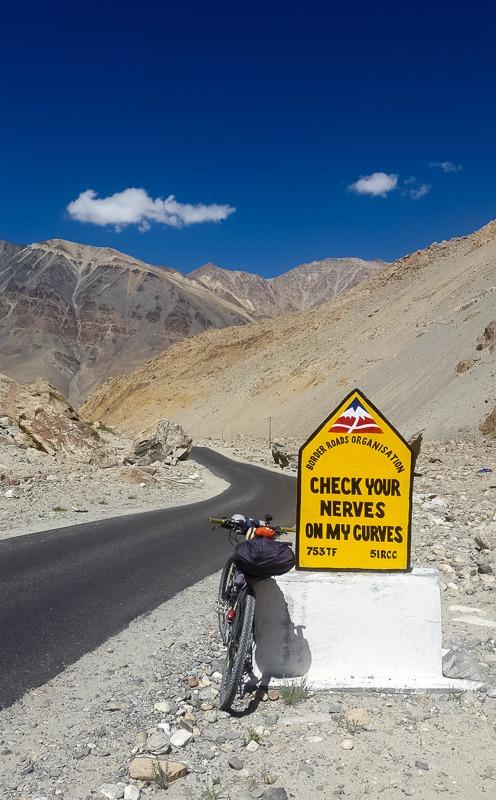 BRO funny captions in Ladakh