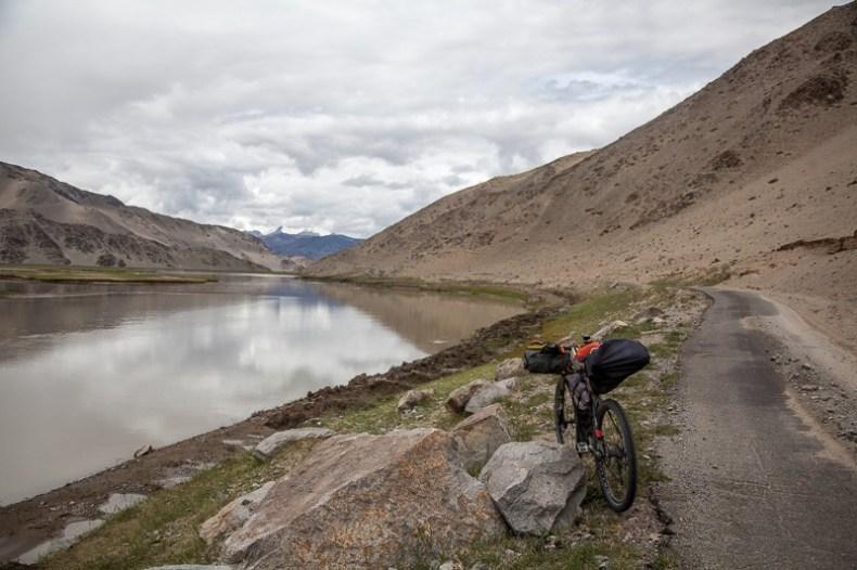 Cycling from Tsaga to Hanle