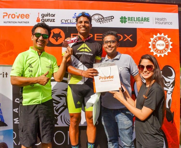 Mad Over Biking Race winner of Noida Race