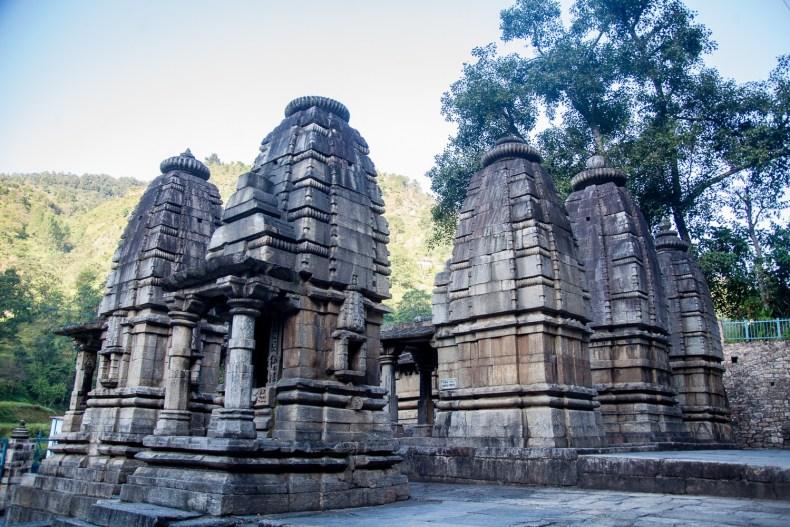 Adibadri Temple complex in Adibadri