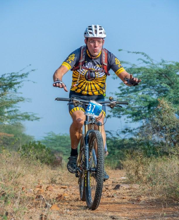 Johan Bentinck at Aravalli Trailhunters Finale