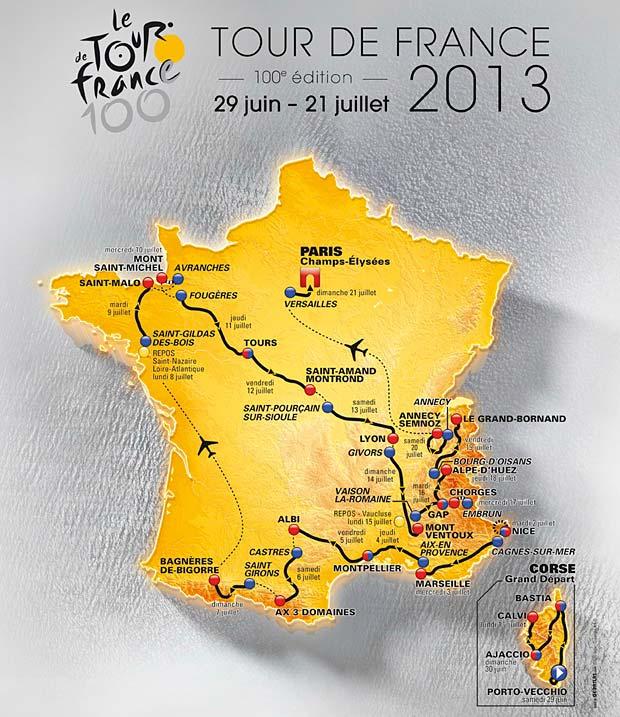 The 2013 Tour de France